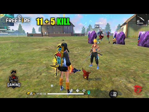 I Need Cover AMITBHAI 16 Kill OverPower Best Gameplay - Garena Free Fire