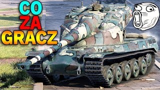 CO ZA GRACZ !!! - AMX 50B wymiata - World of Tanks
