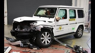 2019 Mercedes G-Class Crash Test