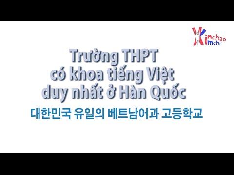 (vietsub)Trường THPT có khoa tiếng Việt duy nhất ở Hàn Quốc // 한국 유일의 최초 베트남어과 고등학교!!