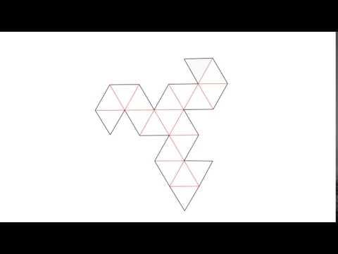 Unfold polyhedron Animation