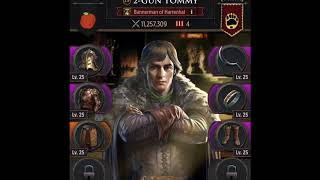 TYRYN- Zeroing 19 Million Player in Kingdom 25. Game Of Thrones Conquest.