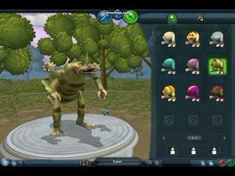 Spore creature creator & sporelebrity contest.