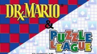 2 Games in One Dr  Mario + Puzzle League GBA Short Demo