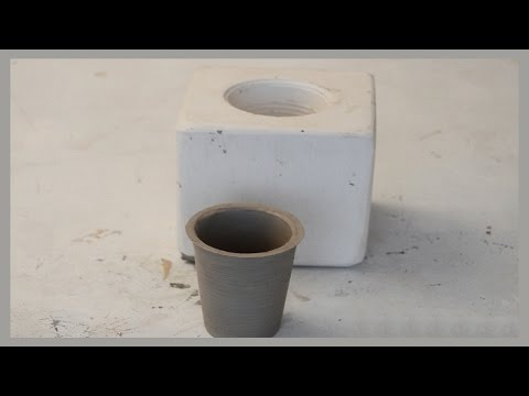 MAKING A SIMPLE CERAMIC CUP
