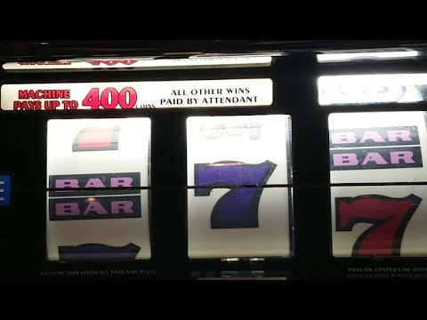Old School $1 Coin Slots In Downtown Las Vegas