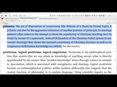 Defining Terms Apologetics Pol...