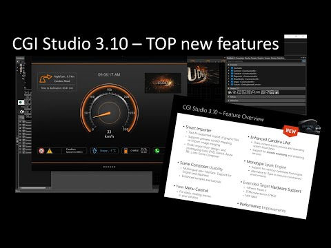 CGI Studio 3 10 Highlights