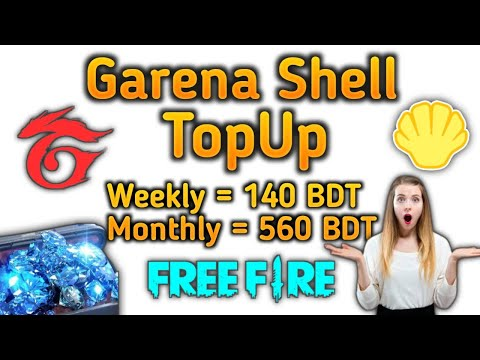 Garena Shell TopUp Free Fire //Top 5 Diamond TopUp Site Free Fire // Free Fire New Promo Site