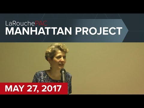 Manhattan Town Hall event with Diane Sare and Hal Cooper