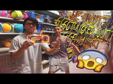 WE DID THE BEAN BOOZLED CHALLENGE IN WALMART! (200 SUB SPECIAL, CRAZY DARES!)