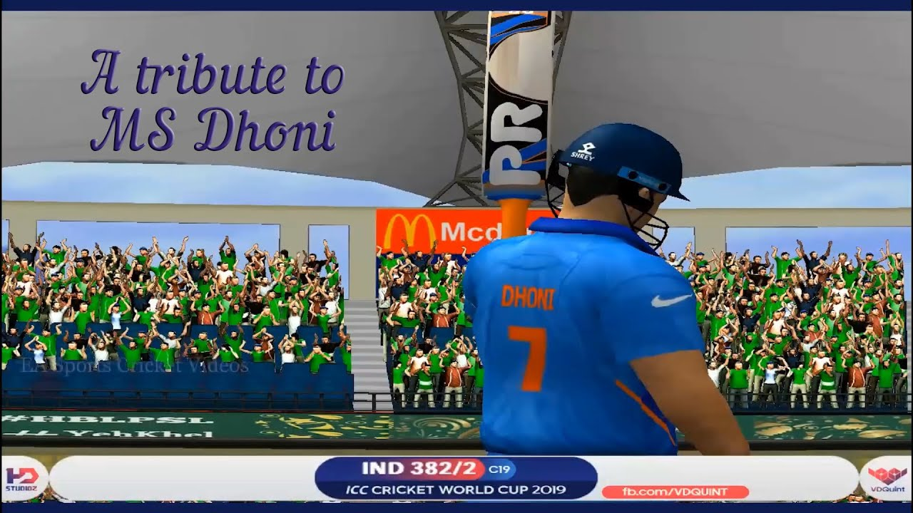 Thank you MS Dhoni - Forever Captain Cool - A tribute to MS Dhoni