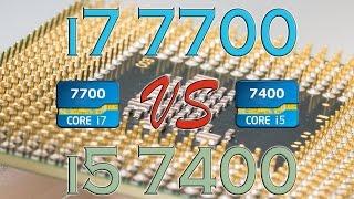 i7 7700 vs i5 7400 benchmarks gaming tests review and comparison kaby lake vs kaby lake