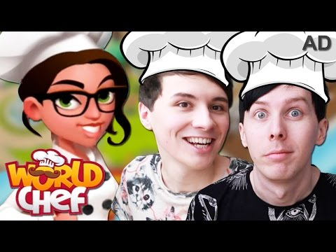 AD  WELCOME TO PHILDONALDS!  Dan and Phil Play: World Chef