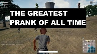 the greatest prank of all time battlegrounds battle royal