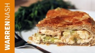 Chicken And Leek Pie Recipe - With Comté Cheese Easy Pie Filling - Recipes By Warren Nash