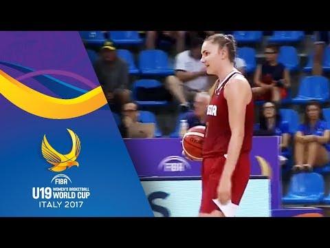 Spain vs Russia -  Scoring on wrong basket - FIBA U19 Women's Basketball World Cup 2017