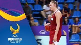Scoring on wrong basket - spain v russia - fiba u19 women's basketball world cup 2017