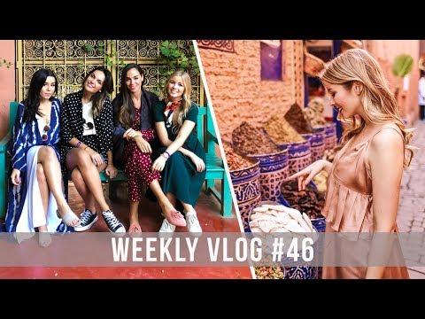 WEEKLY VLOG #46 TRIP A MARRAKECH | Alice Trewinnard