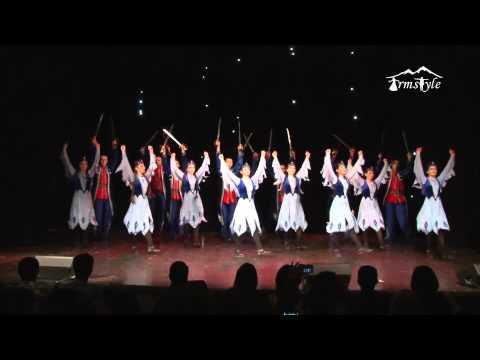 Армстайл армянский танец Арцах Arzah 2015 год