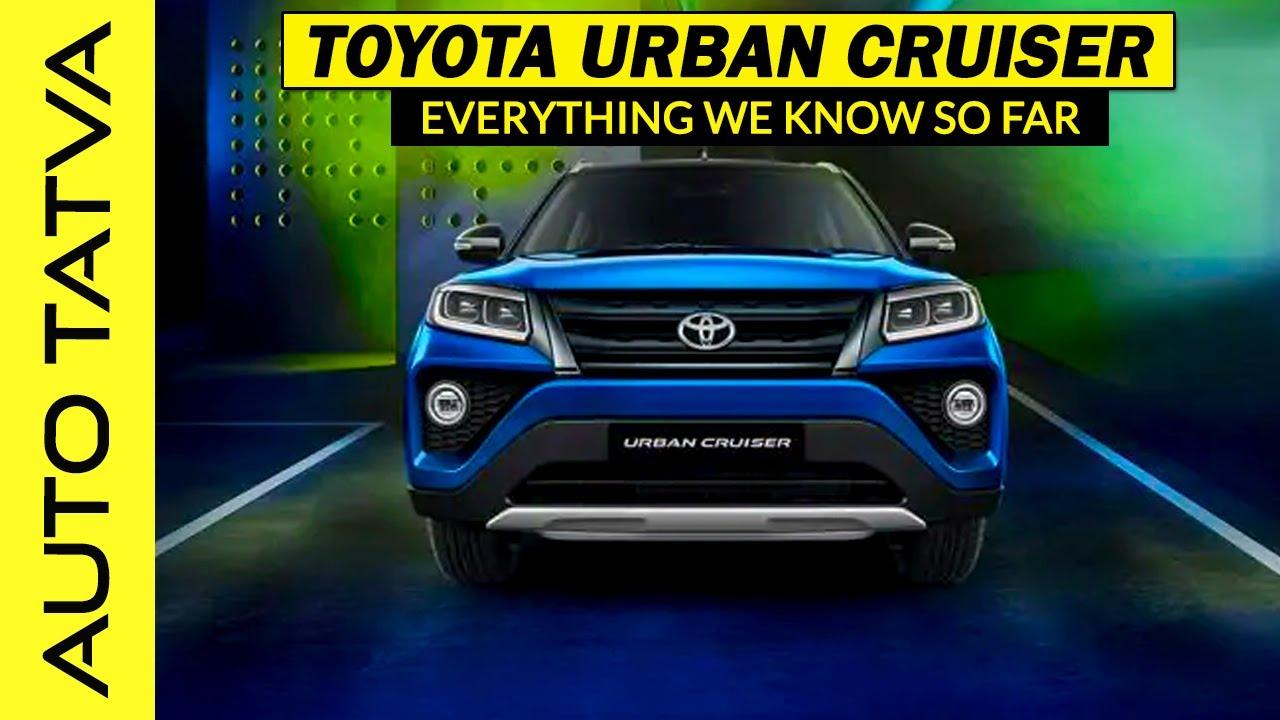 2020 Toyota Urban Cruiser Everything We Know So Far Auto Tatva Youtube