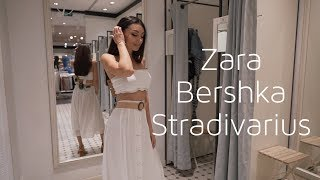 ШОПИНГ ВЛОГ🛍ТРЕНДЫ 2019 в Zara,Bershka,Stradivarius