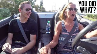 Download Turbo'd my Mom's Car - Her Reaction Was Priceless! Mp3 and Videos