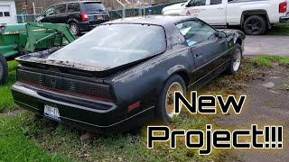My New 1988 GTA Trans Am!!!! (Project GTA pt.1)
