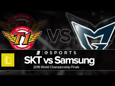 Highlights: SKT vs SSG (Worlds 2016 Finals)