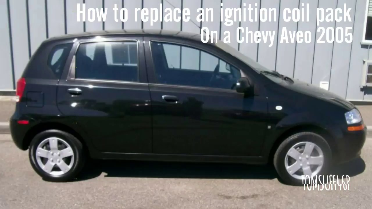 hight resolution of how to replace an ignition coil pack chevy aveo 05