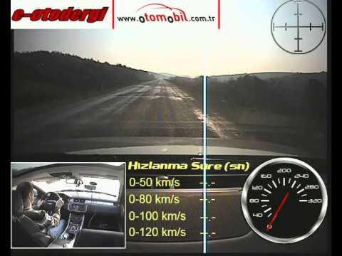 2012 Range Rover Evoque 2.0 Si4 Test (0-100 Km/s,100-0 Km/s)