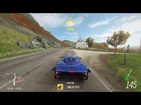 Forza Horizon 4 Strathbridge speed zone autumn seasonal objective thumbnail