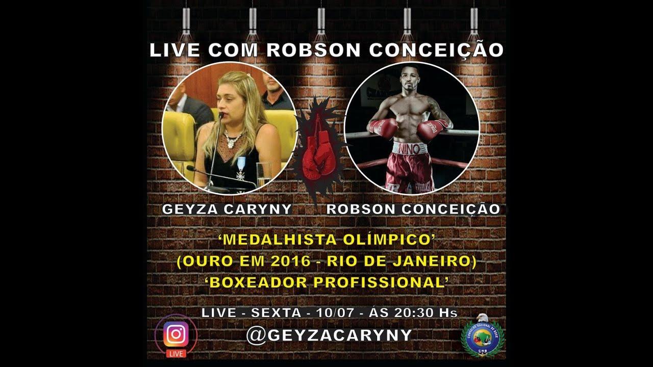 Live: Geyza Caryny e Robson Conceição