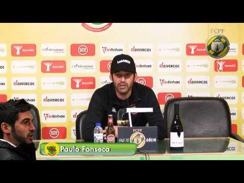 Conferência de Imprensa PAULO FONSECA  04/05/13