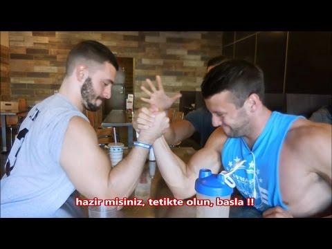 Bilek Guresi Yaptik   Arm Wrestling   D*ck Measurement Contest