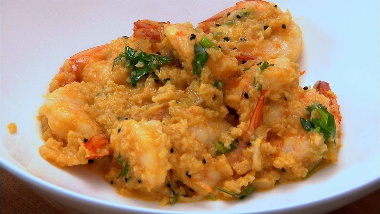 Cocunut Mustard Prawns Indian Food Made Easy With Anjum Anand Bbc Food