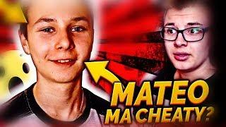 MATEO MA ZNOWU CHEATY? 1VS1!