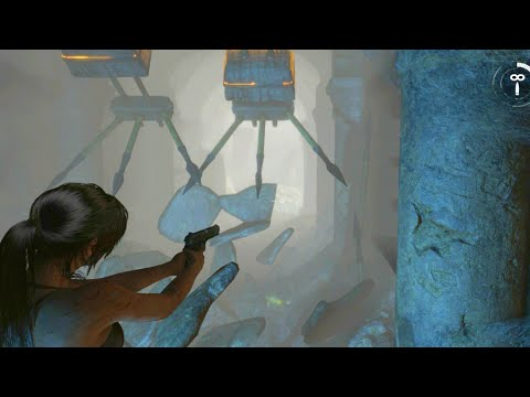 Rise of the Tomb Raider Double Impalement Death Scene