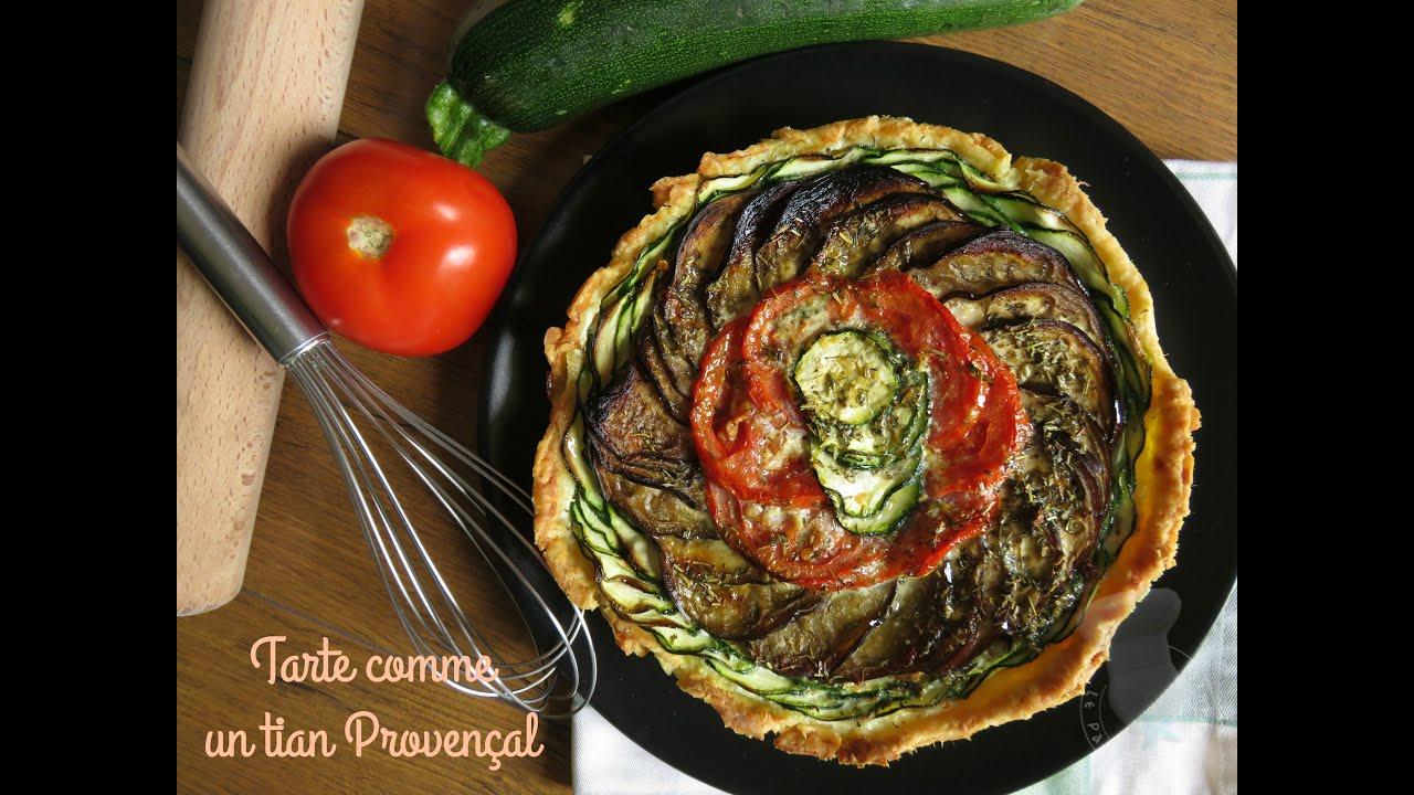 Recette Facile Du Tian Provencal recette de la quiche comme un tian provençal