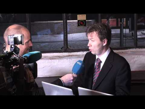 Charlie Miller interviewed by Norwegian Public Service TV at Paranoia 2010