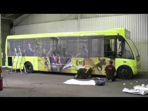 Bus Advertising Knowsley Safari Park Bus Wrap Time Lapse