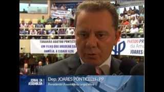 Deputado Joares Ponticelli é eleito presidente da Assembleia Legislativa de Santa Catarina