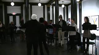 "Excerpt from AT BUFFALO ""Have a Look"" Site-Specific Rehearsal at The Buffalo History Museum"