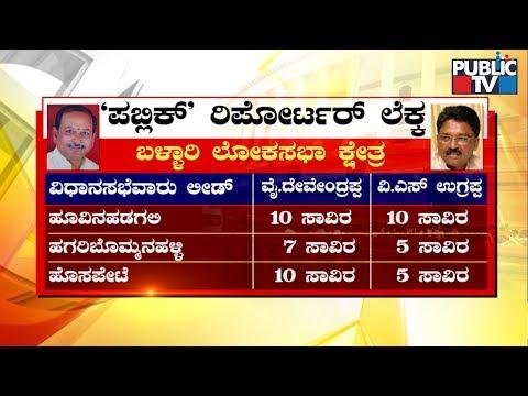 ಬಳ್ಳಾರಿ ಯಾರ ಸುಪರ್ದಿಗೆ..? | VS Ugrappa vs Devendrappa | Bellary Lok Sabha Election Results