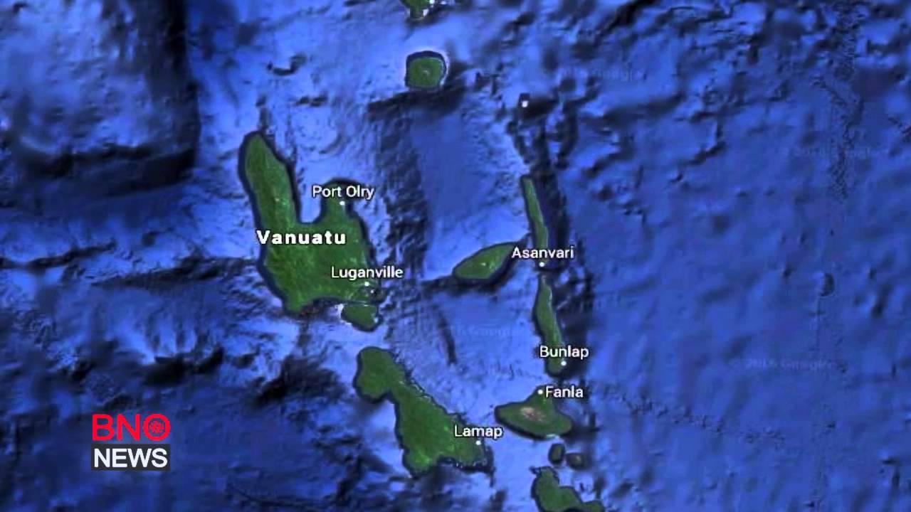 Vanuatu earthquake Powerful tremor near Lakatoro prompts tsunami