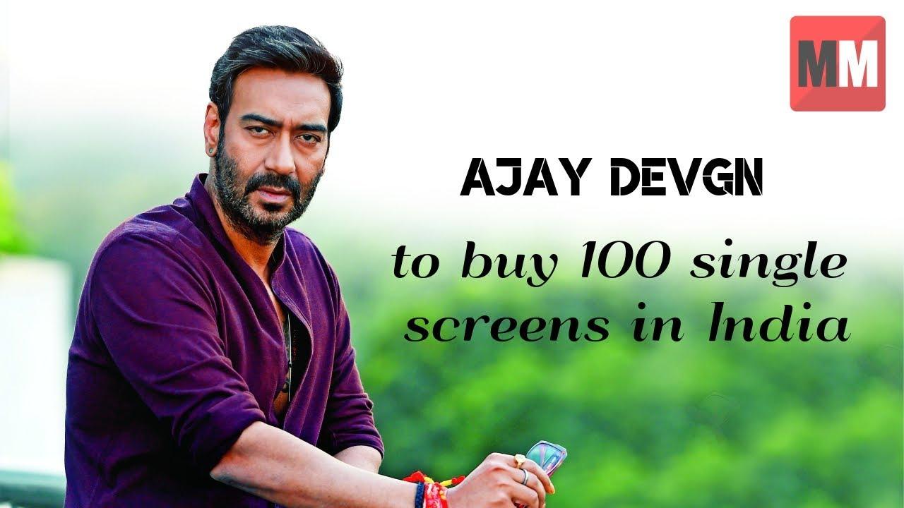 Image result for ajay devgan single screen