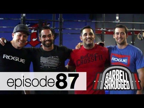 CrossFit Invitational Team USA Men: Rich Froning, Jason Khalpia, Ben Smith, Matt Chan - EPISODE 87