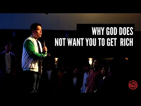 Why God Does Not Want You to Get Rich