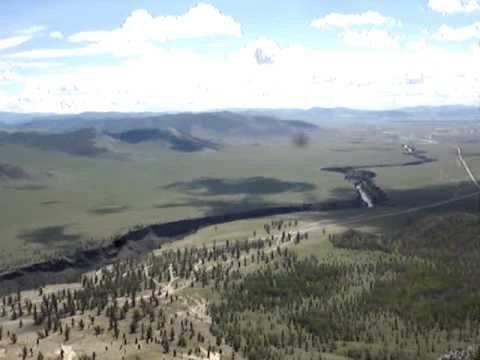 Mongolian Mountaintop Panorama