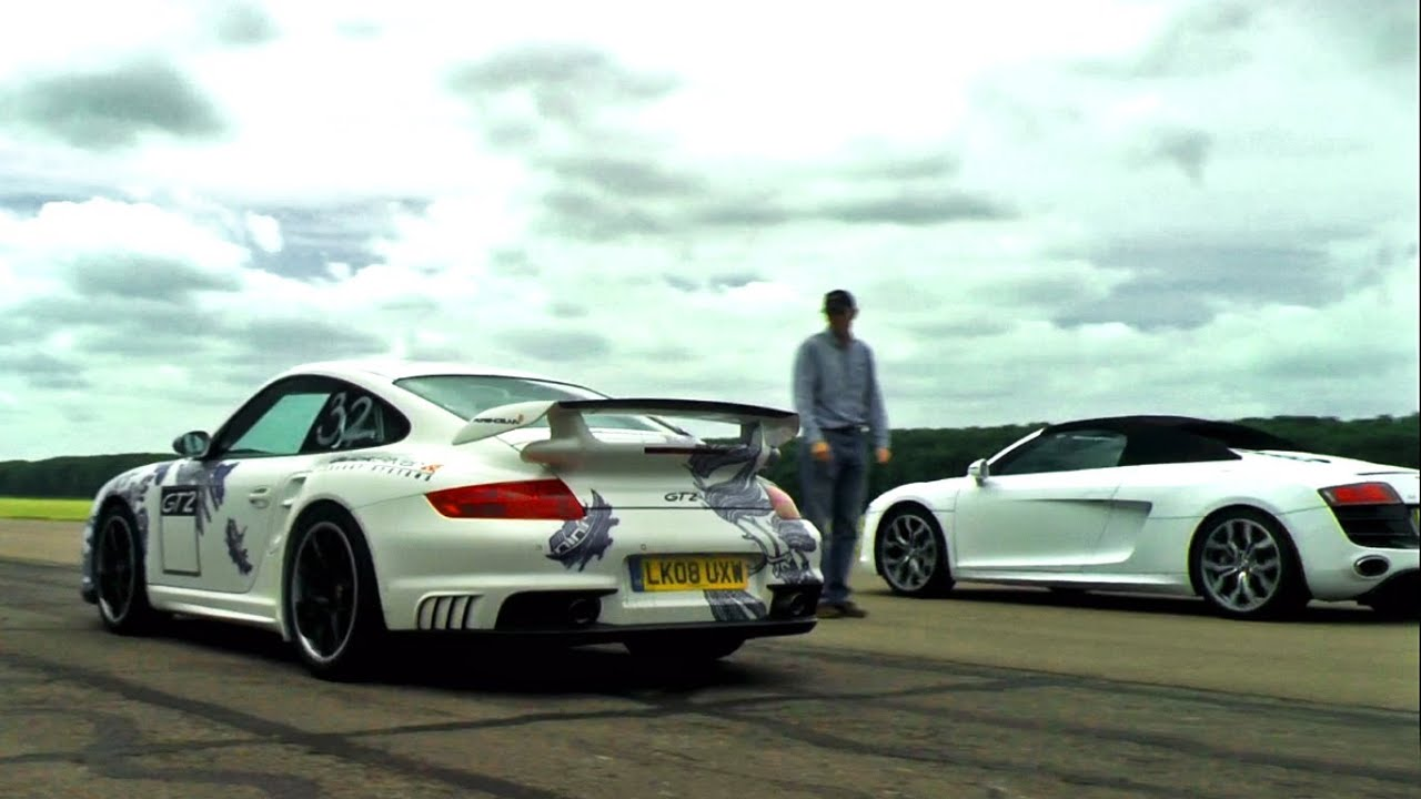 197mph RIDE in Porsche GT2 with QuickSilver Exhaust [+ drag race with Audi R8 V10] - YouTube